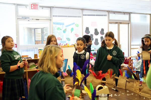 Third Grade Big Sisters, Meals on Wheels
