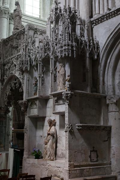 Troyes - Sainte-Madeleine Church - Choir Screen