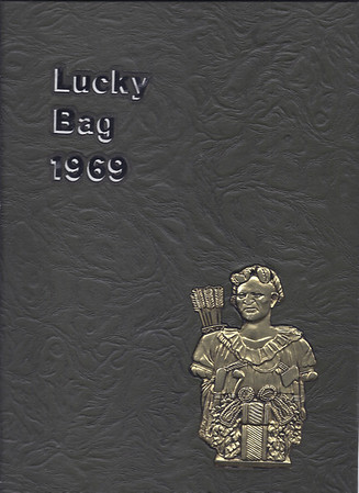 USNA Lucky Bag 1969