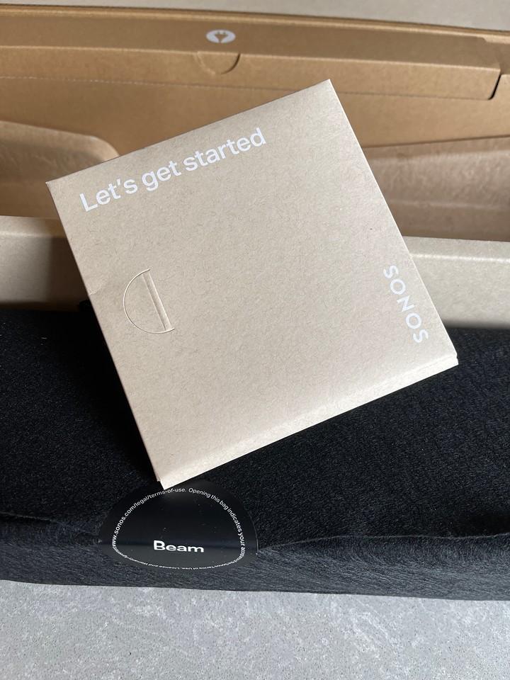 Sonos Beam Gen 2 Start Up Manual