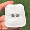 4.08ctw Old European Cut Diamond Pair, GIA I VS2, I SI1 14