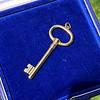 Vintage Tiffany & Co Gold Key 0