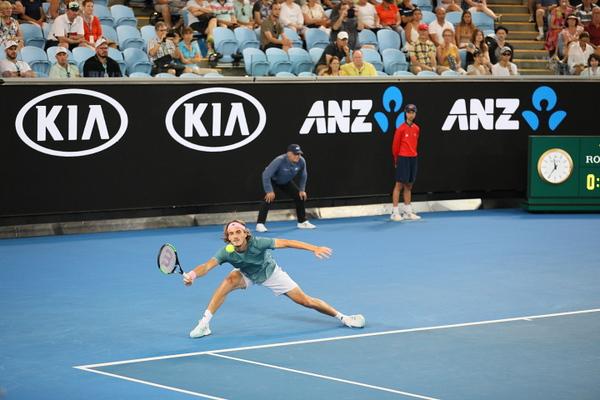 Tsitsipas at Aussie Open