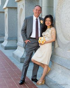 Mi Hui Wright & Earl Tanner - Wedding Day