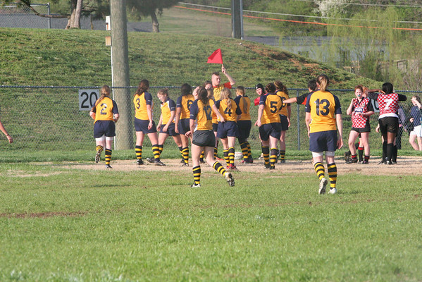Girls Rugby 2008