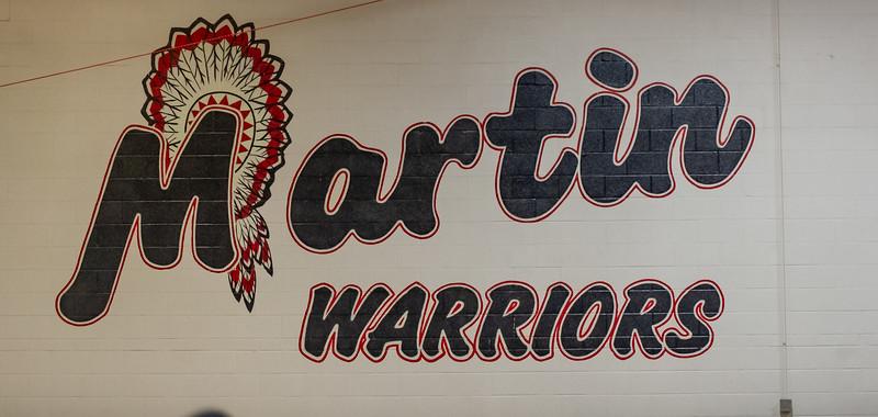 Lady Panther Varsity vs  Martin Warriors 02-01-19