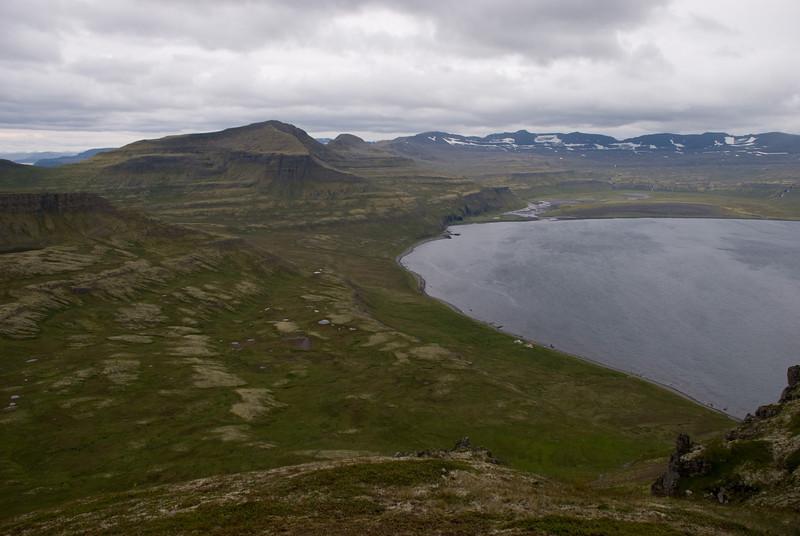 Miðdalur, Frímannshús og Stíghús, Múlinn, Innstidalur, Dögunarfell, Hornvíkin.
