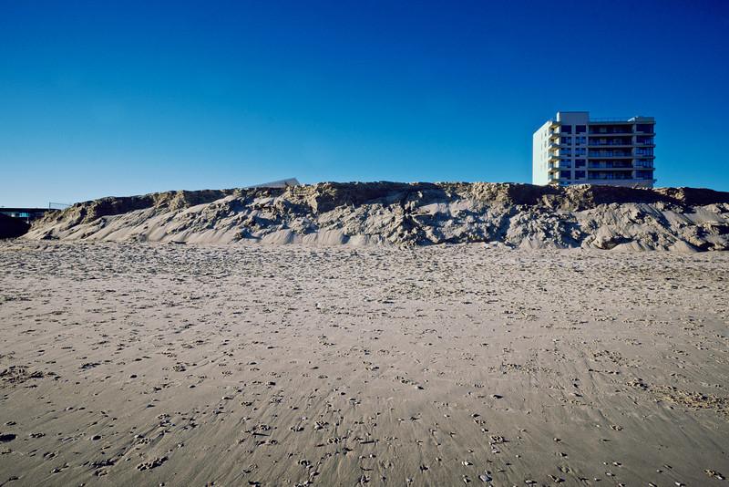 Rockaway Beach - Missing Boardwalk February 2014