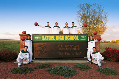 Saydel Basketball Seniors 2011 - 2012