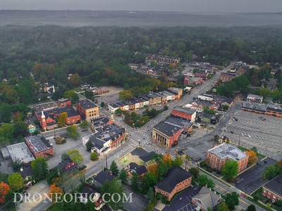 Chagrin Falls from 399 feet above!!!