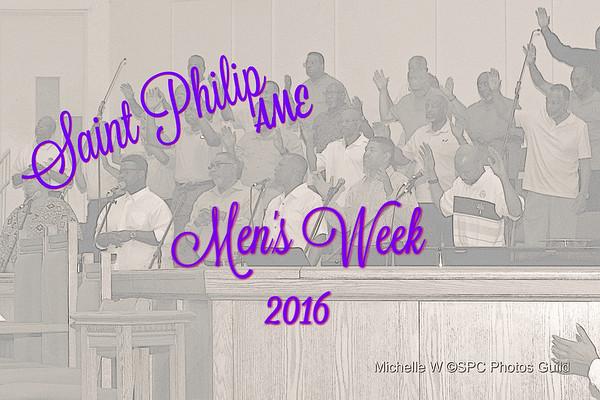 2016 Mens Week Service (Dr. Scott)