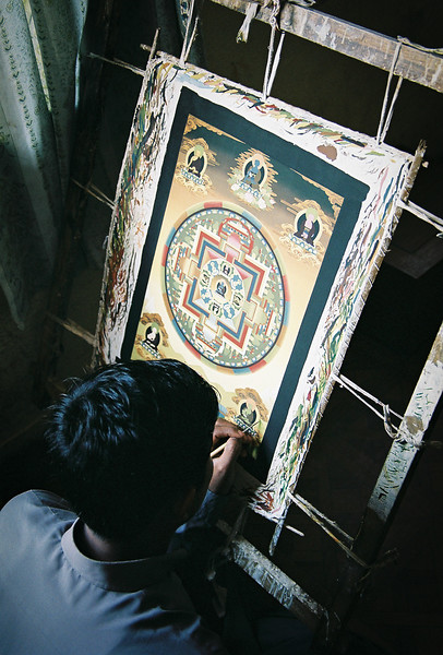 Thangka painting, Bhaktapur