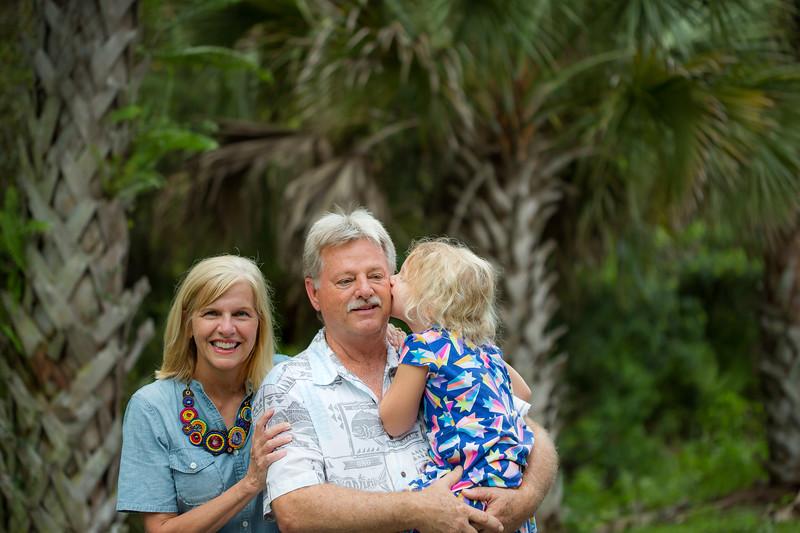 Charlene, Abby, Rick- Legacy Trail