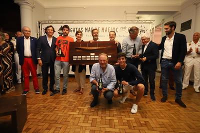Reparto de premios Regata Mar de Maeloc Rías Baixas 2019