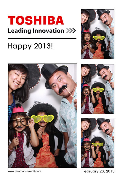 Toshiba 2013 Party (Luxe Booth)