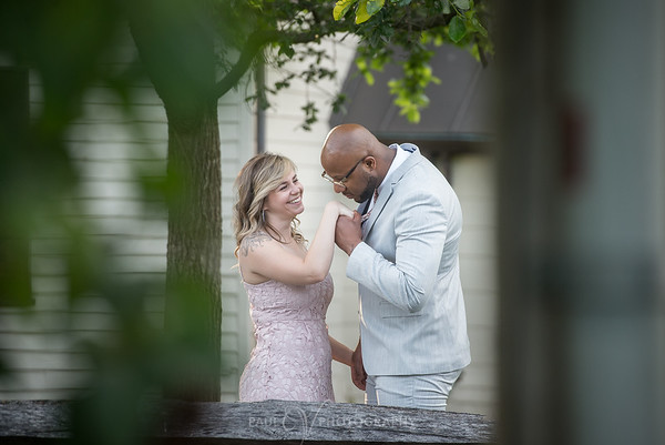 Kaitlyn and Taaj Engagement