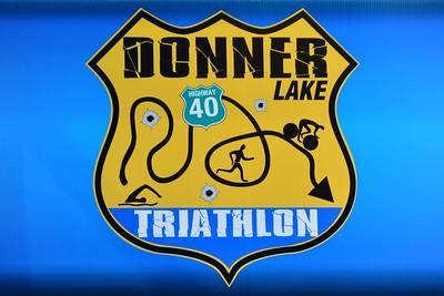 Donner Lake Tri Olympic/Half Finish