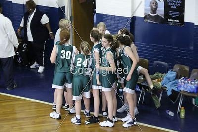 Blessed Sacrament ( girls) vs Notre Dame 1/29/09