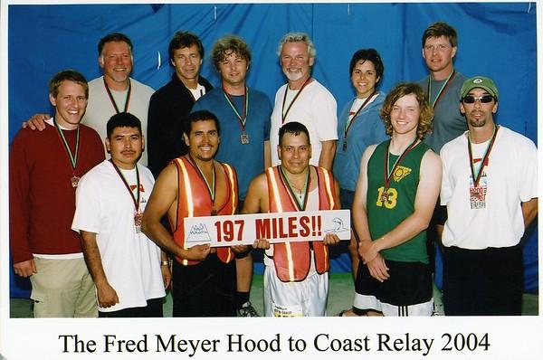 Hood to Coast Relay - 2004