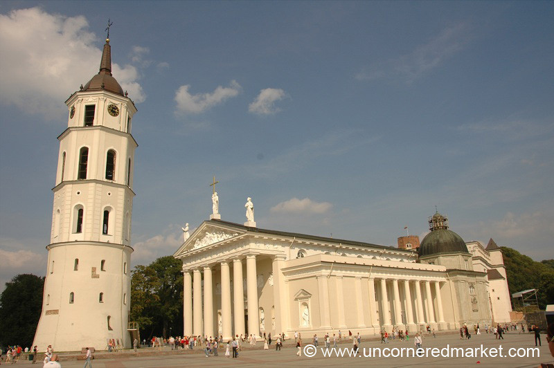 Arkikatedra Bazilika (Cathedral) - Vilnius, Lithuania