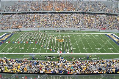 WVU vs Cincinnati - Halftime Formations - 9/13/03
