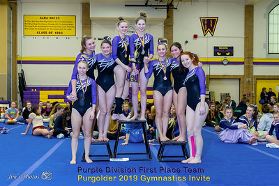 HS Sports - Purgolder Gymnastics Invite - Jan 12, 2019