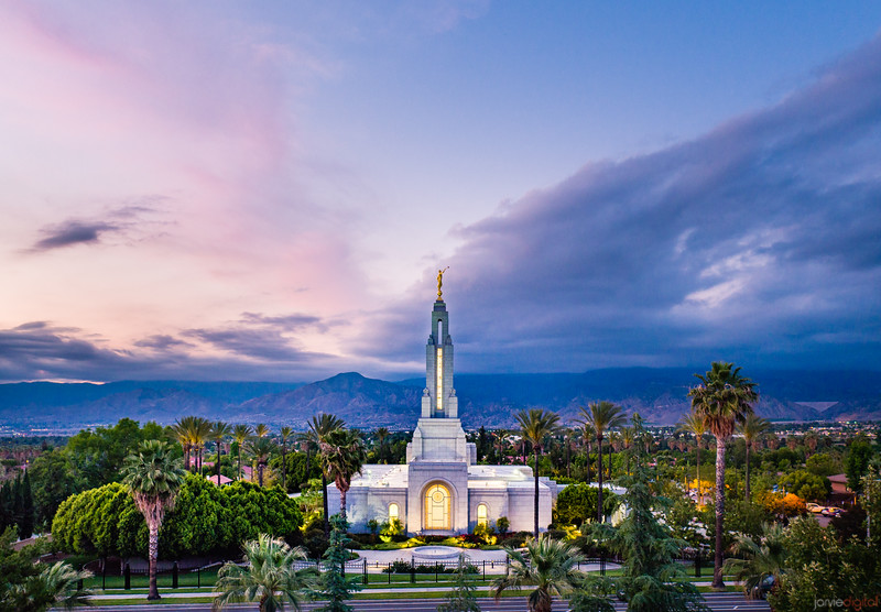 Redlands Temple - Stand out