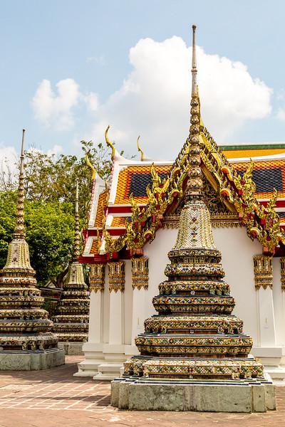 Tiled Stupa