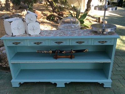 22270 Vintage furniture and decoration package