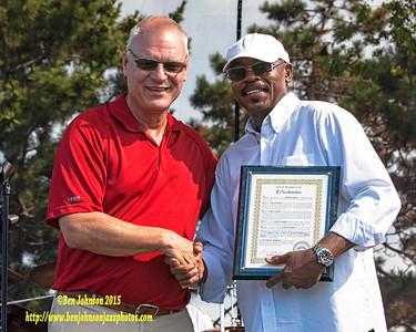 Dr. Harvey Mason Receives Proclamation from Atlantic City