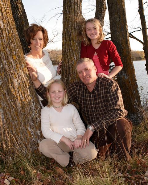 Scott, Vicki and the girls