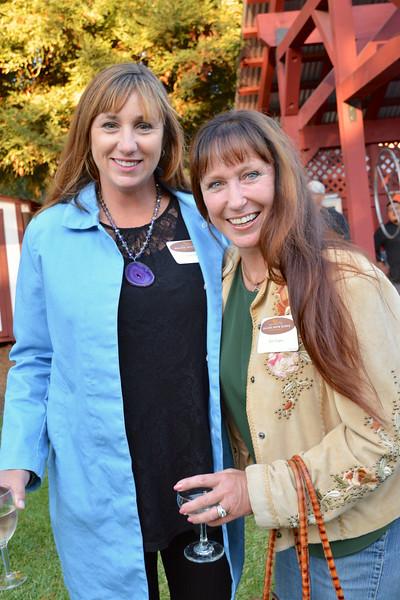 Susie Weir and Kim Vogee