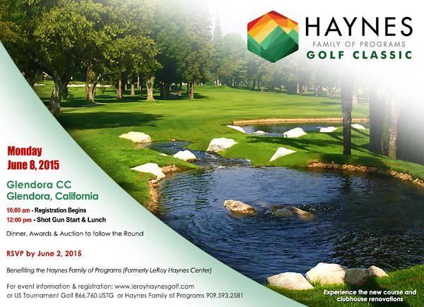 2015 Haynes Family of Programs Golf Classic