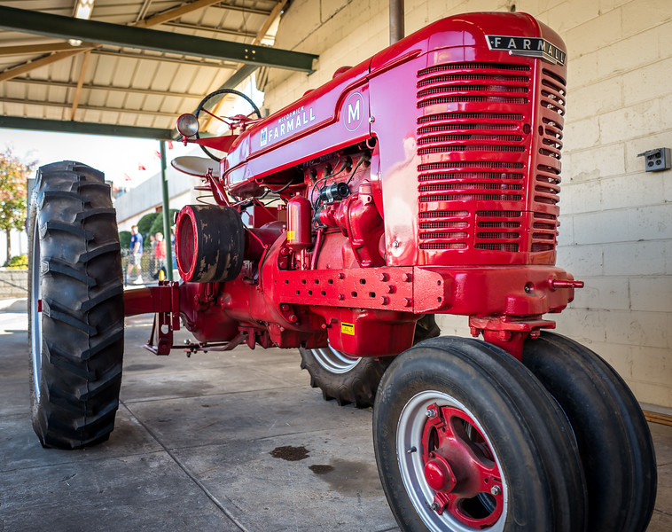 Tractor at NC State Fair 2016