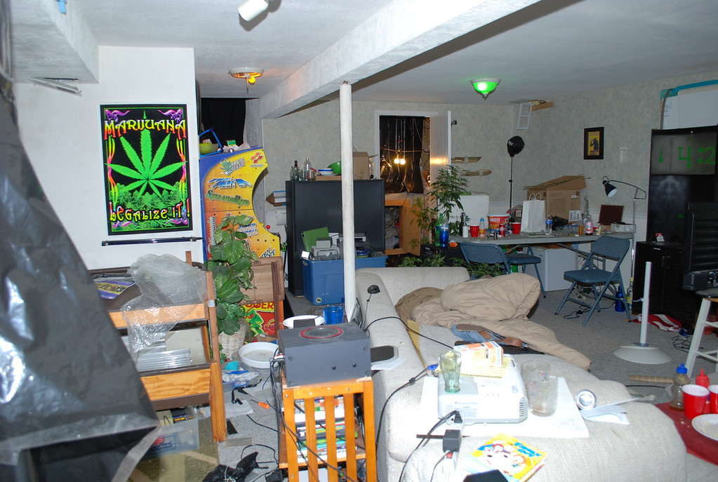 . Basement living area of the Sigg home. Provided by Jefferson County District Attorney\'s Office