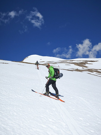 Skiing Mount Lincoln, 6/5/16