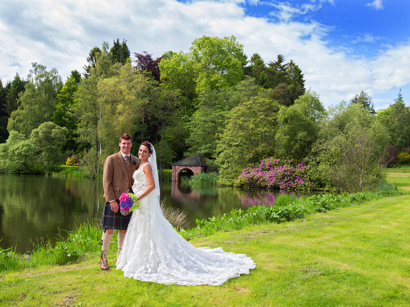 Guthrie Castle Wedding
