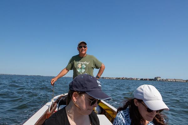 Visiting Mike Dowler in Fenwick Island
