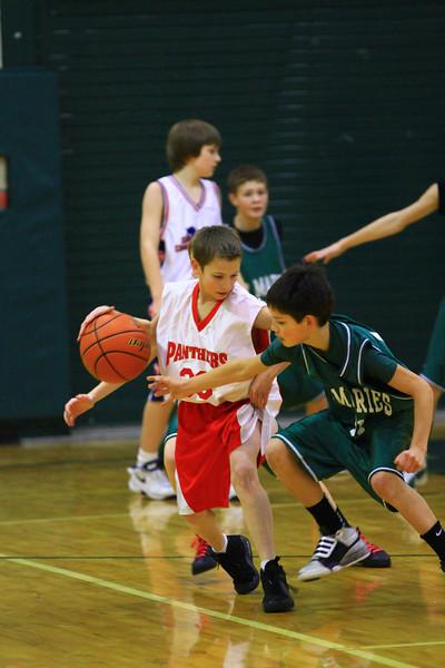 7th grade boys basketball vs cda charter 1-23-2012