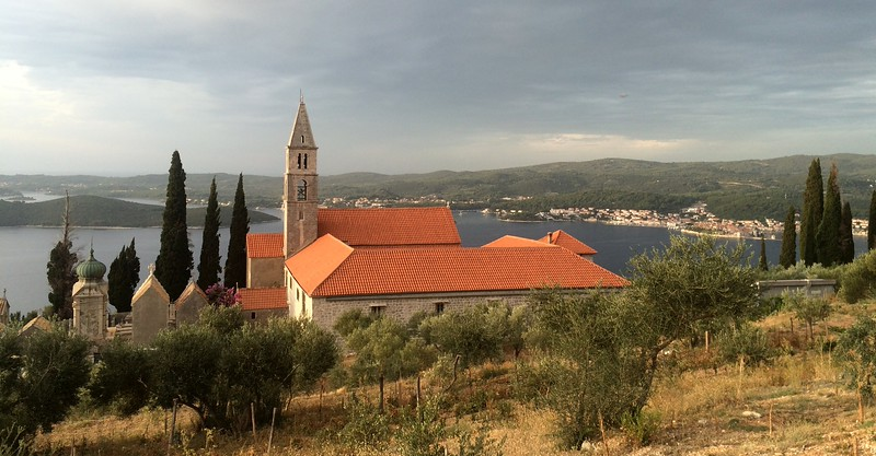 Closer to the monastery