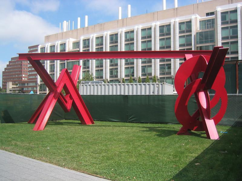Modern Sculpture. M.I.T. Campus