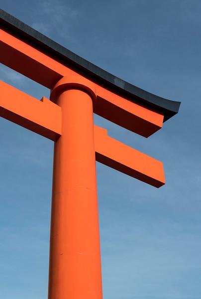 Romon Gate at Fushimi Inari Shrine