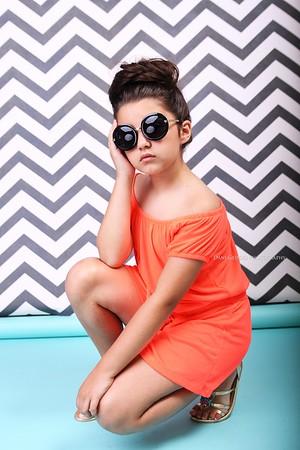 Orange and Stripes - Dani Geddes