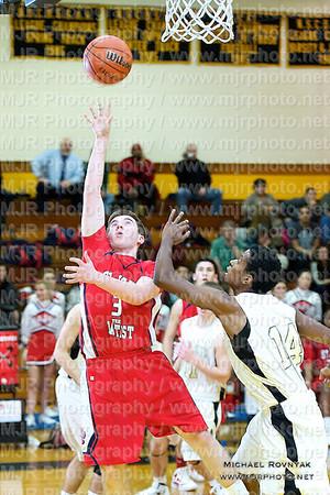 St Anthonys VS St Johns, Boys Varsity Basketball 01.17.12