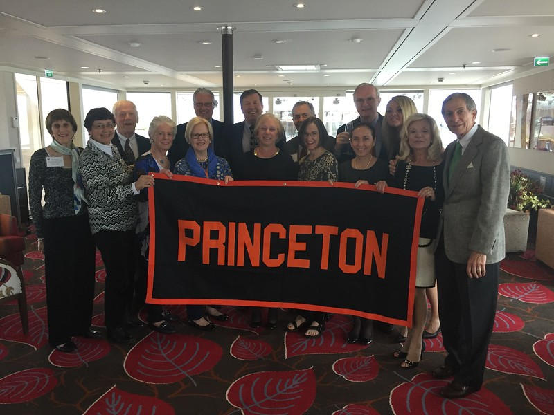 Group with Princeton Banner - Bridget St. Clair