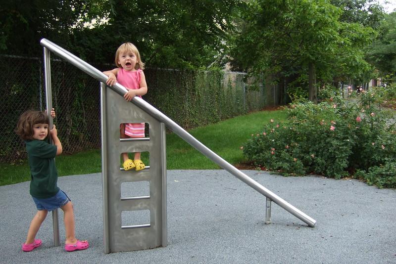 """Guen calls this """"The Little Park""""."""
