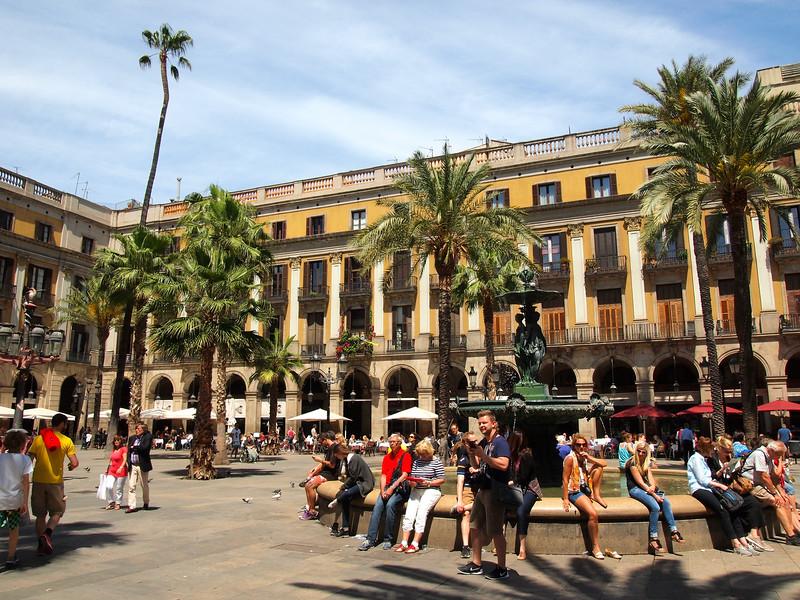 Bari Gotic neighborhood in Barcelona