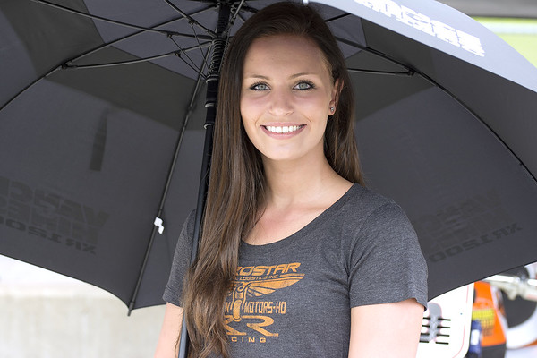AMA Pro Racing Umbrella Girls Barber Motorsports Park
