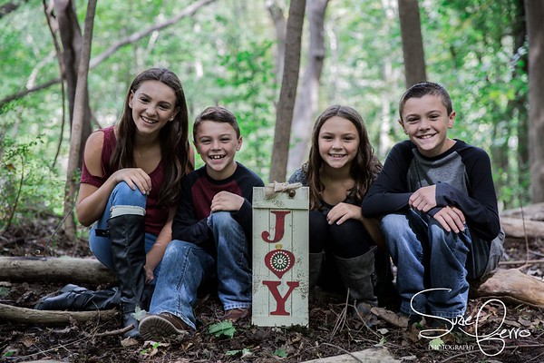 Holiday Fall Family Sessions
