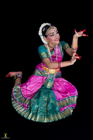 Reena's Pre-Arangetram Pictures At Anjali Dance Studio